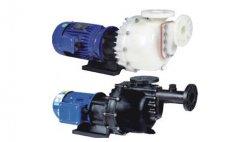 废水处理行业用PP耐酸碱自吸磁力泵性能