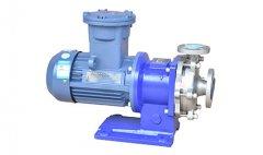 不锈钢磁力泵是怎样的工作原理?